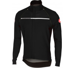 Castelli Fietsjack waterafstotend Heren Zwart Wit / CA Perfetto Convertible Jacket Light Black