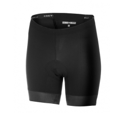Castelli Fietsbroek zonder bretels Dames Zwart Wit - CA Core 2 W Short-Black/White