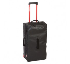 CASTELLI Rolling Travel bag 40x74x29cm XL  / Reiskoffer black
