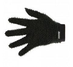 Santini Fietshandschoenen winter Zwart Unisex - Alpha Under-gloves Black
