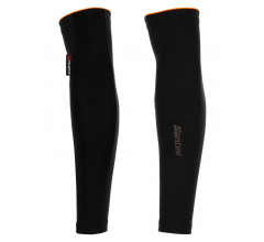 Santini Armwarmers Zwart Unisex - Vega Multi Wind-Proof Water Resistant Arm Warmers Black