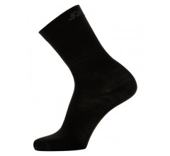 Santini Fietssokken winter Zwart Unisex - Wool High Profile Wool Socks Black