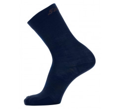 Santini Fietssokken winter Blauw Unisex - Wool High Profile Wool Socks Nautica Blue