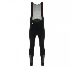 Santini Fietsbroek lang met bretels Zwart Heren - Adapt Bib-Tights C3 Black