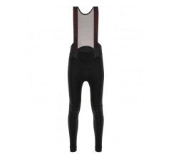 Santini Fietsbroek lang met bretels Zwart Dames - Nimbus Rain Bib-Tights For Women Black