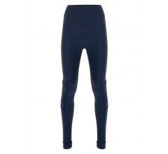Santini Fietsbroek kort zonder bretels Blauw Dames - Alba Winter Thermofleece Tights For Women Nautica Blue