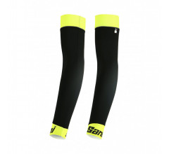 Santini Armwarmers Fluo Geel Unisex - Mid Arm Warmers Yellow Fluo