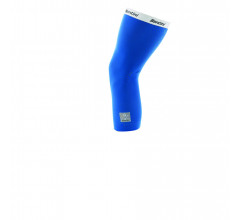 Santini Kniewarmers Blauw Unisex - Totum Thermofleece Knee Warmers Royal Blue