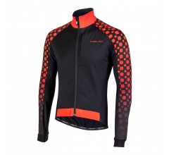 Nalini Fietsjack Heren Zwart Rood - AIW CRIT 3L JKT 2.0 WINTER JACKET BLACK/ RED