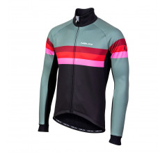 Nalini Fietsjack Heren Groen Zwart - AIW CRIT WARM JACKET 2.0 WINTER JACKET GREEN/BLACK