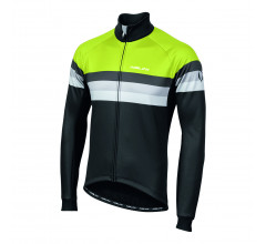 Nalini Fietsjack Heren Zwart Fluo - AIW CRIT WARM JACKET 2.0 WINTER JACKET BLACK/NEON YELLOW