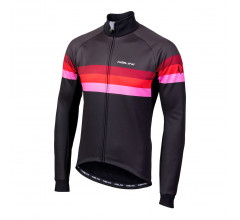 Nalini Fietsjack Heren Zwart Rood - AIW CRIT WARM JACKET 2.0 WINTER JACKET BLACK/ROSSO