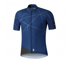 Shimano Shirt Breakaway Navy Heren