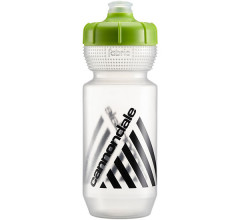Cannondale Bidon Transparant Groen / Retro Bottle CLG 600ml