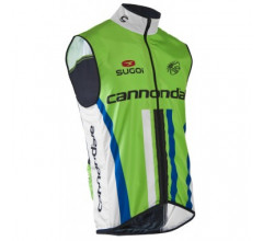 Sugoi Cannondale Pro Cycling Windstopper Mouwloos Groen