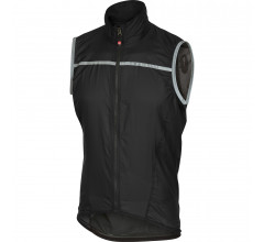 Castelli Windstopper Heren Zwart  / CA Superleggera Vest Black