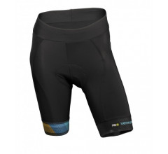 Vermarc Fietsbroek zonder bretels Dames Zwart / CHROMA Women Non-Bib Short - Black