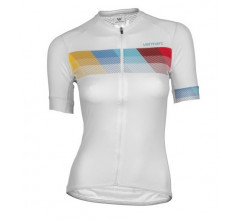 Vermarc Fietsshirt Korte mouwen Dames Wit / CHROMA Women Short Sleeves SUMMER White