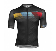 Vermarc Fietsshirt Korte mouwen Heren Zwart / CHROMA Short Sleeves SUMMER - Black