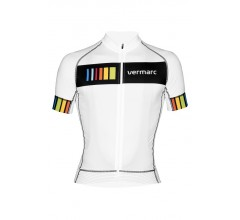VERMARC Colora Short Sleeves / Fietsshirt Wit