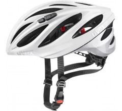 Uvex Fietshelm Race Wit Zilver Unisex - UV Boss Race-White Silver