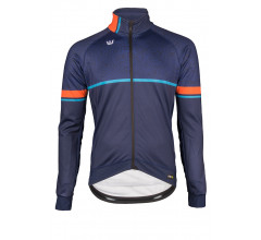 Vermarc Fietsjack winter Heren Blauw  / CURVE Technical Jacket - Navy