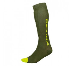 Endura Lichaamsbescherming Heren Groen / SingleTrack Shin Guard Sok - ForestGreen