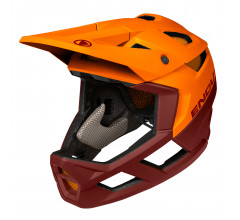 Endura full face fietshelm Unisex Oranje Bruin - MT500 Full Face Helmet Tangarine Orange