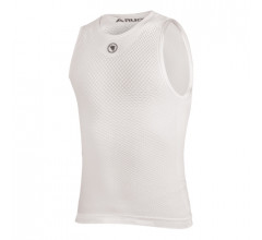 Endura Ondershirt mouwloos Heren Wit / Fishnet mouwloze Baselayer - Wit