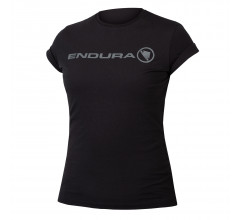 Endura Casual Fietskleding Dames Zwart - Womens One Clan Light T Black