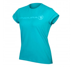 Endura Casual T-shirt Dames Blauw - Women's One Clan Light T Pacific blauw