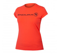 Endura Casual Fietskleding Dames Koraal - Womens One Clan Light T Hi Viz Coral