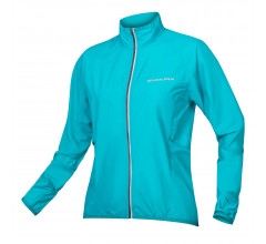 Endura Windstopper jack Dames Blauw - Women's Pakajak Pacific blauw