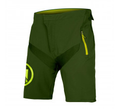 Endura MTB Baggy korte fietsbroek Kids Groen / Kids MT500JR Korte broek II - ForestGreen