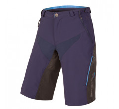 Endura MTB Baggy korte fietsbroek Heren Blauw / MT500 Spray Baggy Short II - Navy Blauw