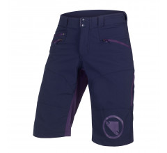 Endura Fietsbroek MTB Kort Heren Blauw - SingleTrack Short II Navy