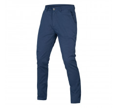 Endura Fietsbroek Casual Lang Heren Blauw - Hummvee Chino Trousers Marineblauw