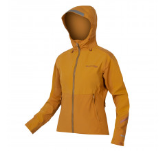 Endura Fietsjack MTB Waterdicht Dames Bruin - Womens MT500 Waterproof Jacket Nootmuskaat