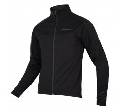 Endura Fietsjack Softshell Heren Zwart - Windchill Jacket II Black