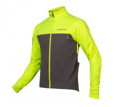 Endura Fietsjack Softshell Heren Fluo - Windchill Jacket II Hi-Viz Yellow
