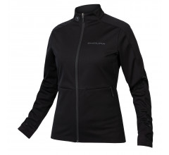Endura Fietsjack Softshell Dames Zwart - Womens Windchill Jacket II Black