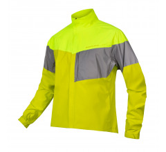 Endura Regen en Windjack Heren Fluo - Urban Luminite Jacket II Hi-Viz Yellow