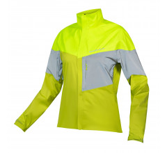 Endura Regen en Windjack Dames Fluo - Womens Urban Luminite Jacket II Hi-Viz Yellow