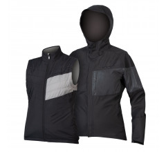 Endura Regen en Windjack Dames Zwart - Womens Urban Luminite 3 in 1 Jacket II Black