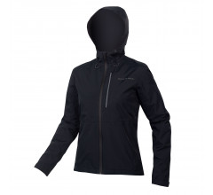 Endura Fietsjack MTB Waterdicht Dames Zwart - Womens Hummvee Waterproof Hooded Jacket Black