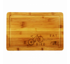 Cycling Gifts Broodplank Cycle Repeat (MOUNTAINBIKE)