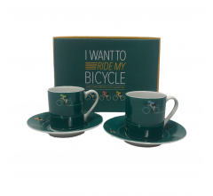 Cycling Gifts Espresso Kopjes