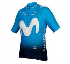 Endura Fietsshirt korte mouwen Heren  / Movistar Team korte mouw shirt