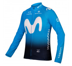 Endura Fietsshirt lange mouwen Heren  / Movistar Team Lange mouw shirt