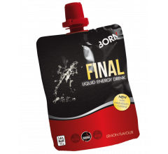 BORN Final Liquid Energy Drink Lemon 90 GR.